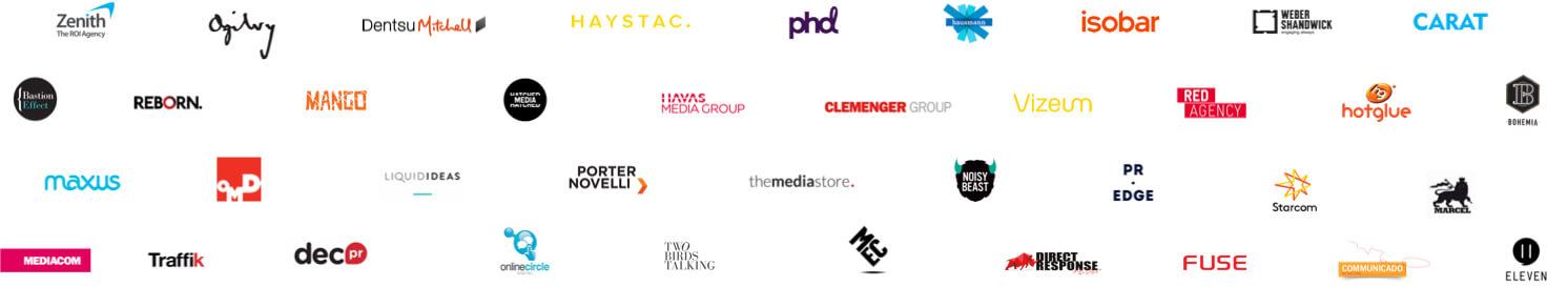 Agencies We've Worked With