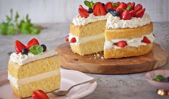 Cake made with Stork Butter