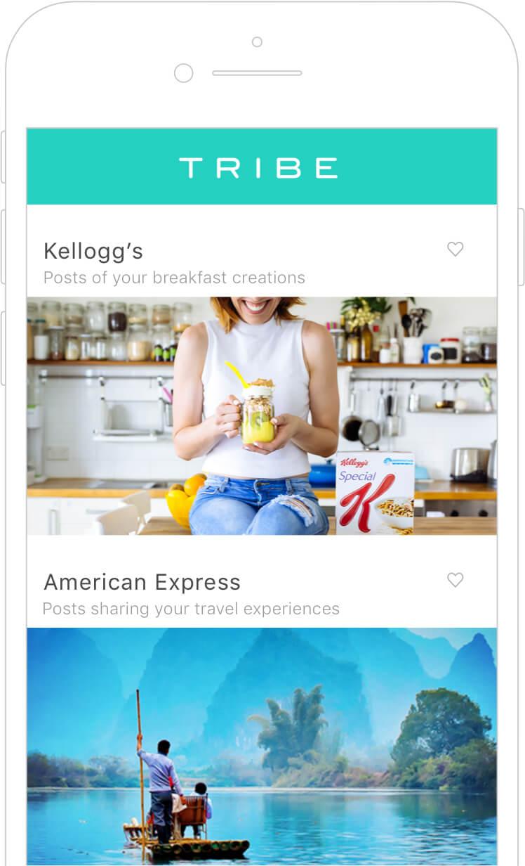 TRIBE App screenshot