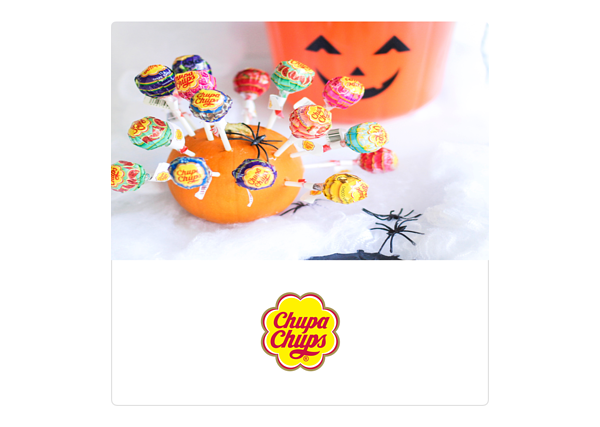 Halloween Chupa Chups