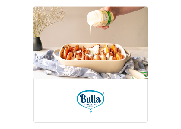 Thanksgiving Bulla Cooking Cream