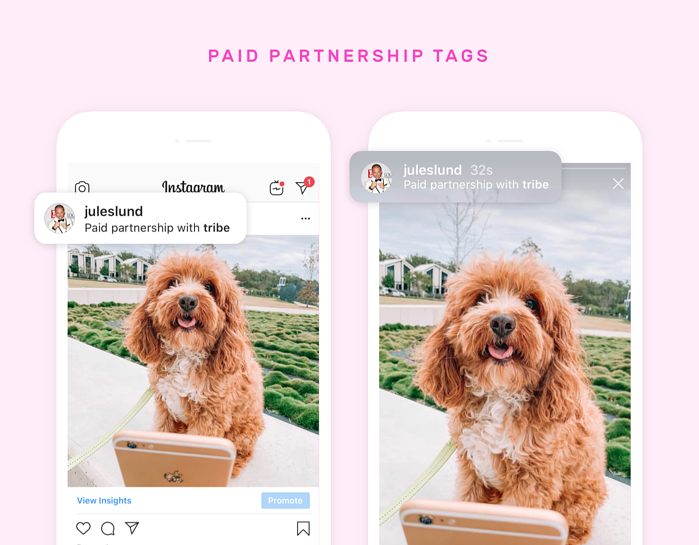 Paid Partnership Tags