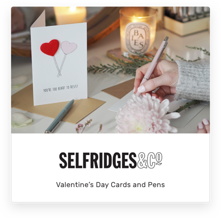 Selfridges Valentines Day