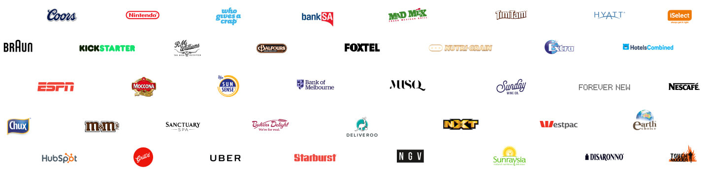 Brands We've Worked With