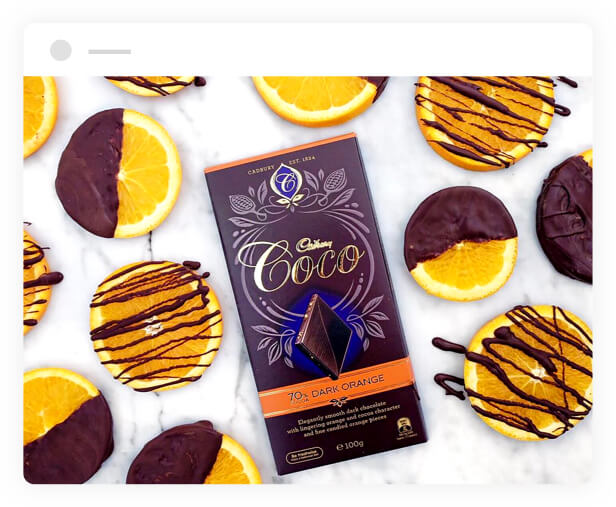 Cadbury Coco Dark Orange