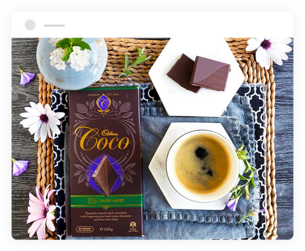 Cadbury Coco Dark Mint