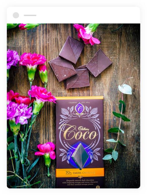 Cadbury Coco Dark Orange
