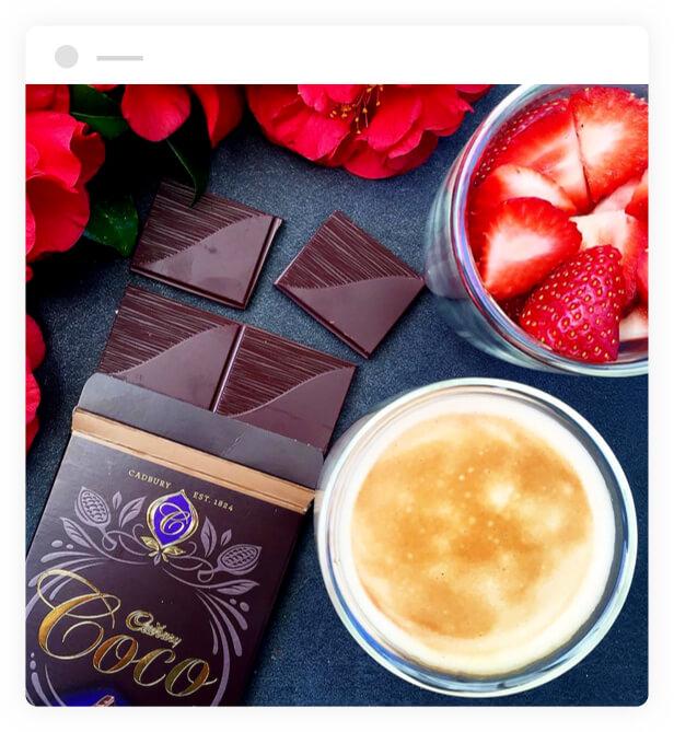 Cadbury Coco Creme Brulee