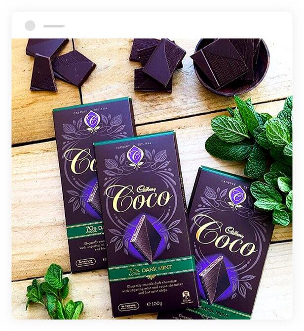 Cadbury Coco Dark Mint