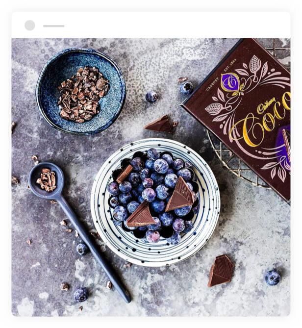 Cadbury Coco Blueberry