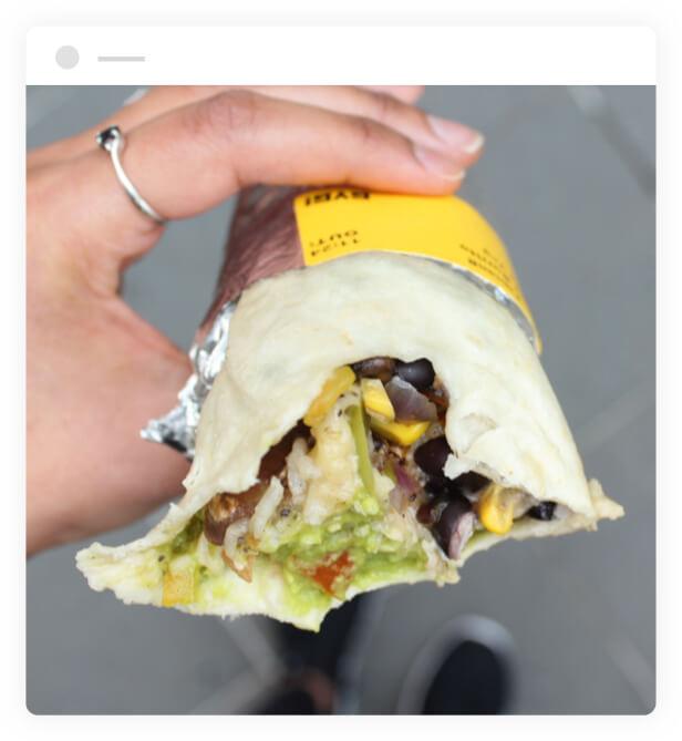 GYG burrito