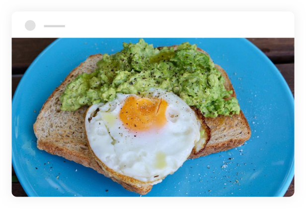 egg and avocado toast made with Helga's Wholemeal Gluten Free Bread