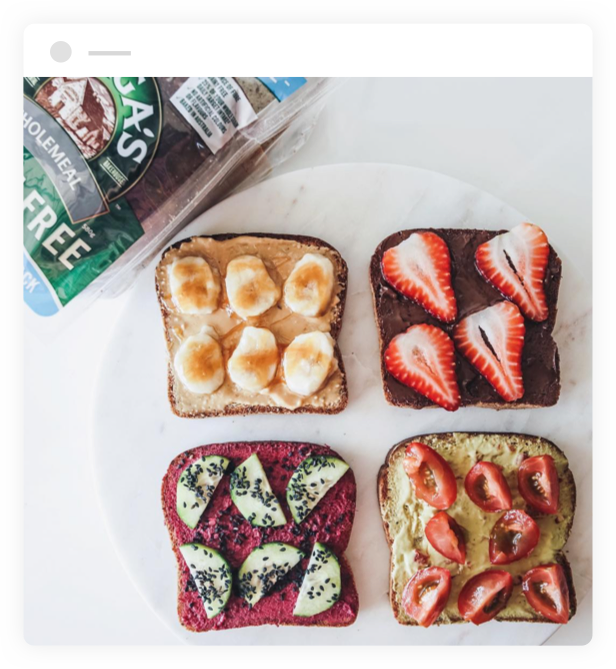 Toasts Made With Helga's Wholemeal Gluten Free Bread