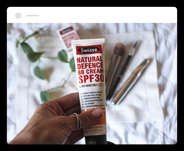 swisse natural defence bb cream spf 30
