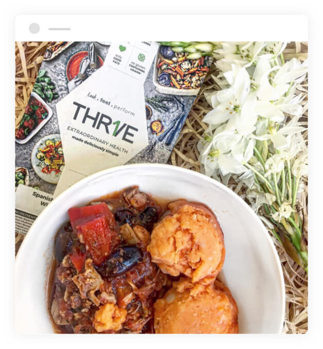 THRIVE meal