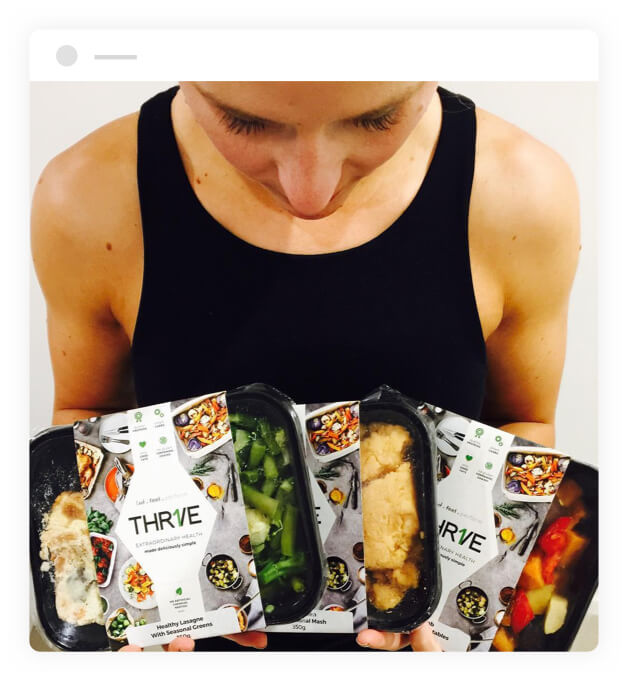 THRIVE meals
