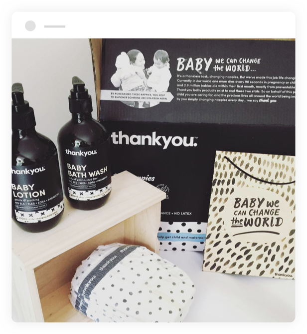 thankyou baby products