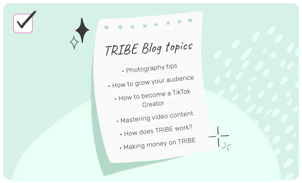 The TRIBE blog